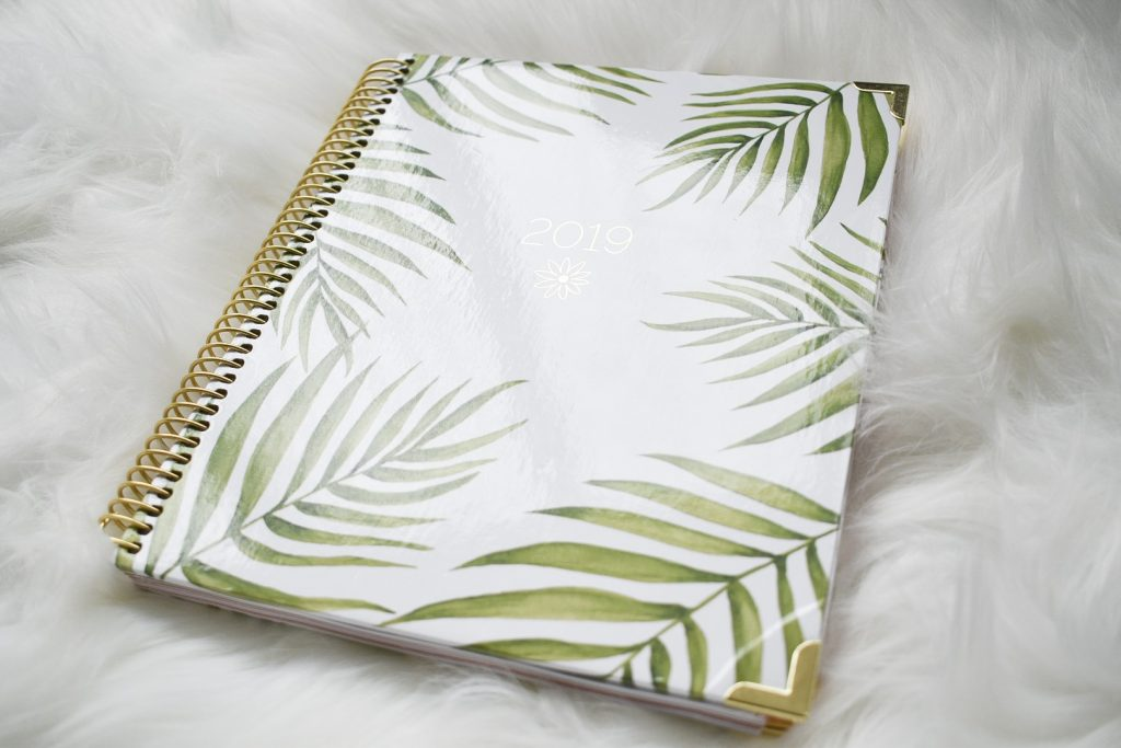 Bloom Daily Planner Cover 2019