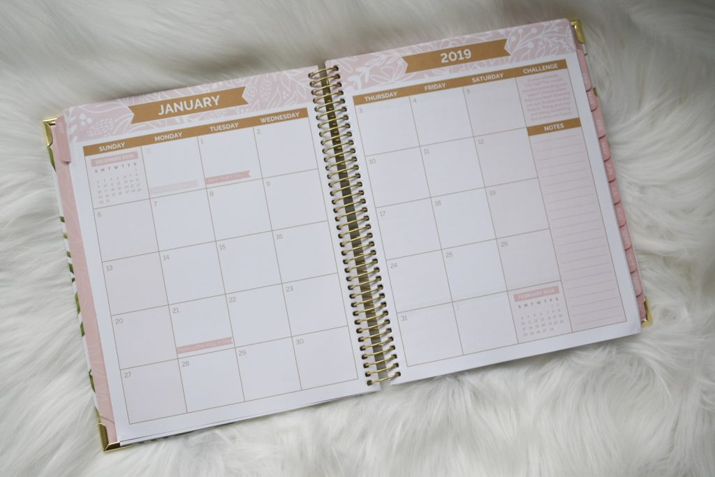 Bloom Daily Planner Month View