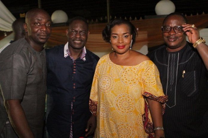 Bola & Toyin Atobatele & Akeem Odutola with Dr. Taiwo Afolabi