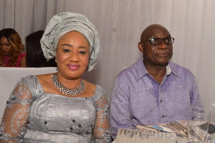 Dr. Lady  Gloria Chima=Igwue with Mr. Jimi Awosika