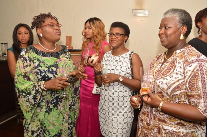 Mimi Fatodun, Elain Shobanjo, Angela Onwuka with Rosemary Alalade