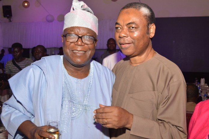 Mr. Ibidapo Obey with Mr. Bade Akingbade