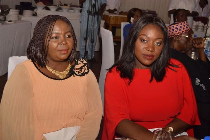 Mrs. Ada Adheke with Mrs. Tosin Adrfeko