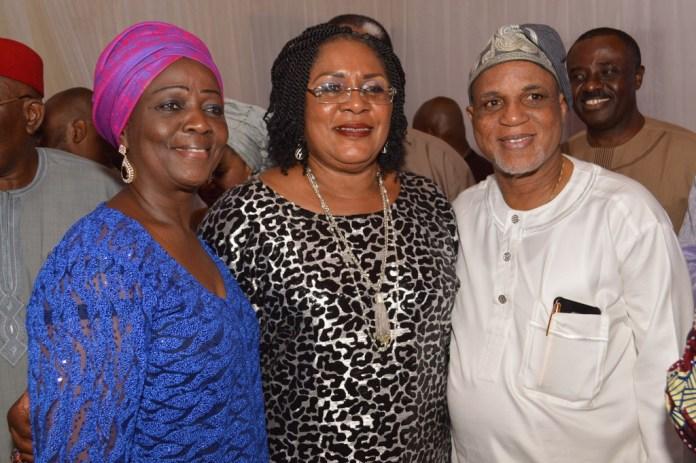 (from right) Mr. & Mrs Biodun Shobanjo
