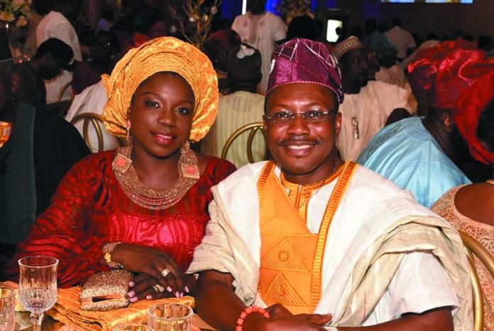 Mr. Owoseni Adetu & wife, Janet Adetu