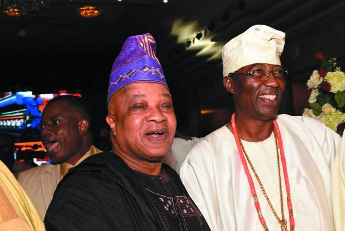 Otunba Funso Lawal & Otunba Gbenga Daniel