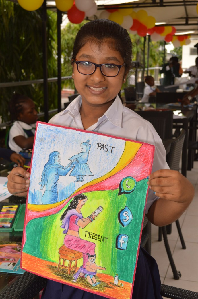 Ishita Vimal of Indian Language School