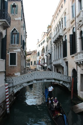 One of the many bridges in Venice.