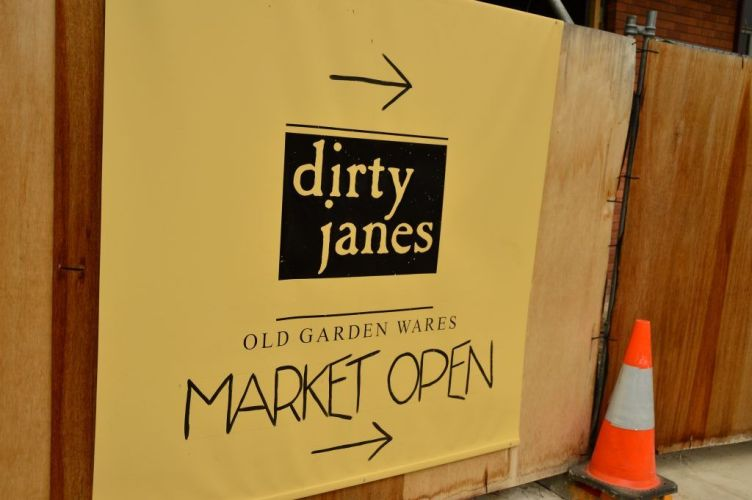 sign to dirty janes market bowral new south wales