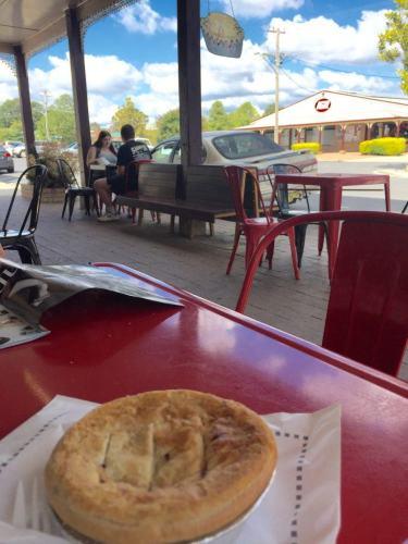 a pie at gunadoo pies new south wales australia