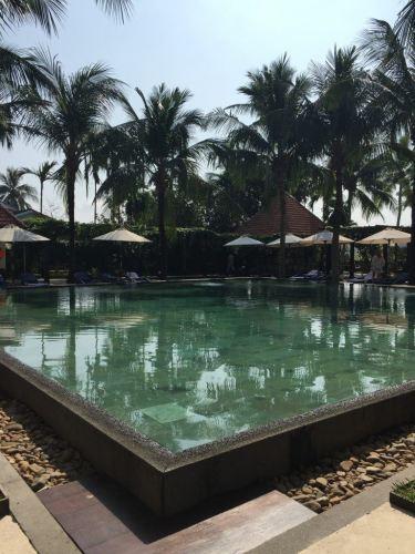 hotel pool hoi an