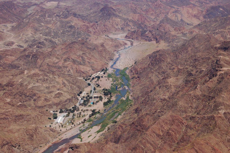 Ai Ais Hot Springs Fish River Canyon Namibia