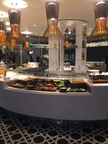 global deli buffet in qatar lounge heathrow review