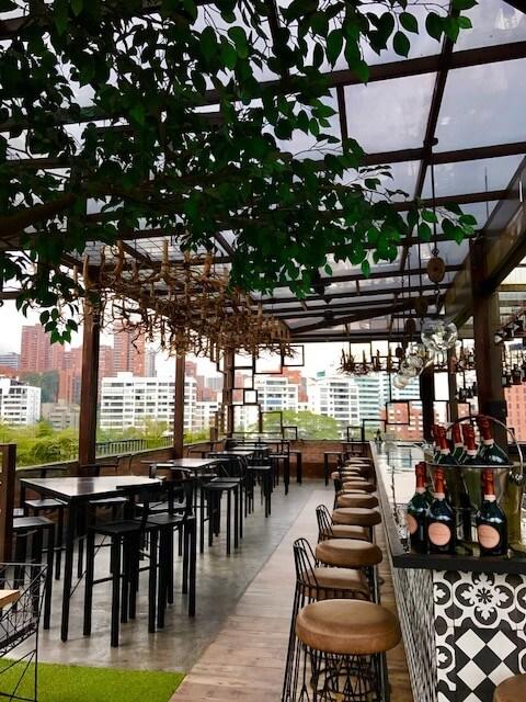 art boutique medellin rooftop bar