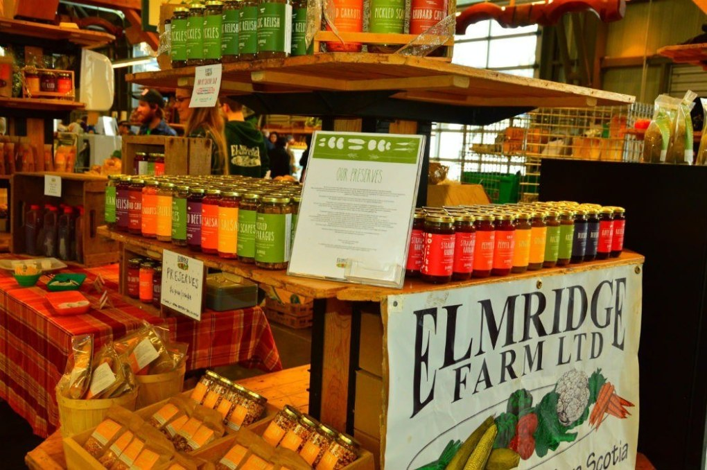 Elmridge Farms stall at Halifax Market