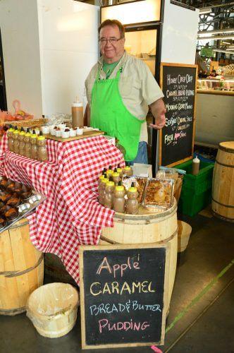 apples at halifax market