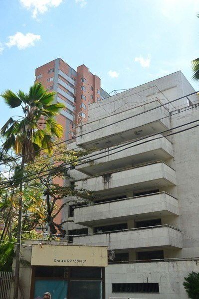 Pablo Escobar's former home in an upmarket Medellin neighborhood
