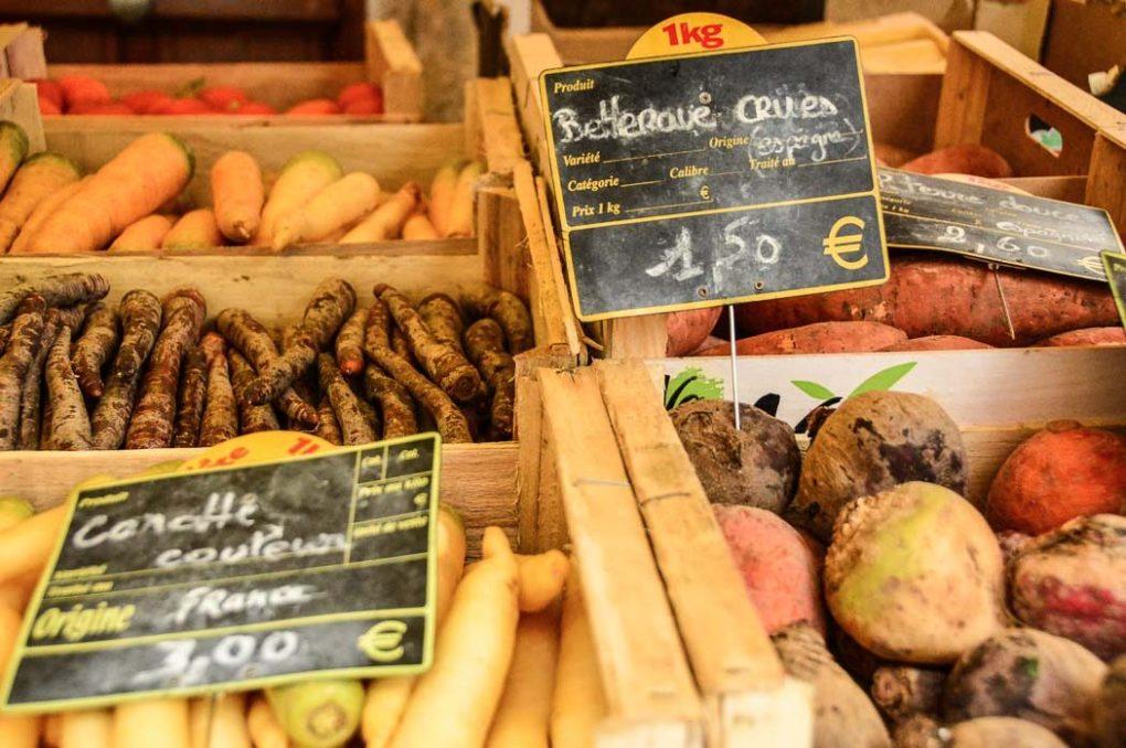 saint antonin noble val france market vegetables