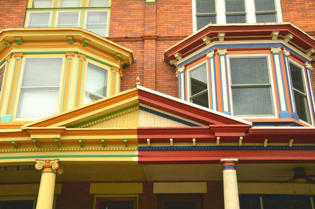 painted-ladies-baltimore houses