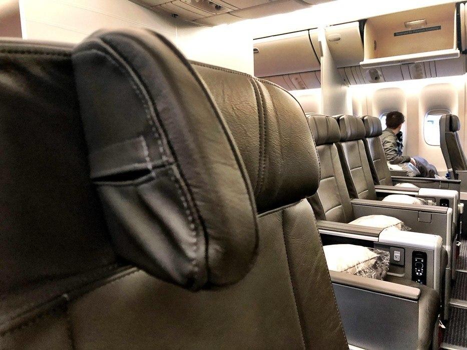 american-airlines-premium-economy-777-200 headrest