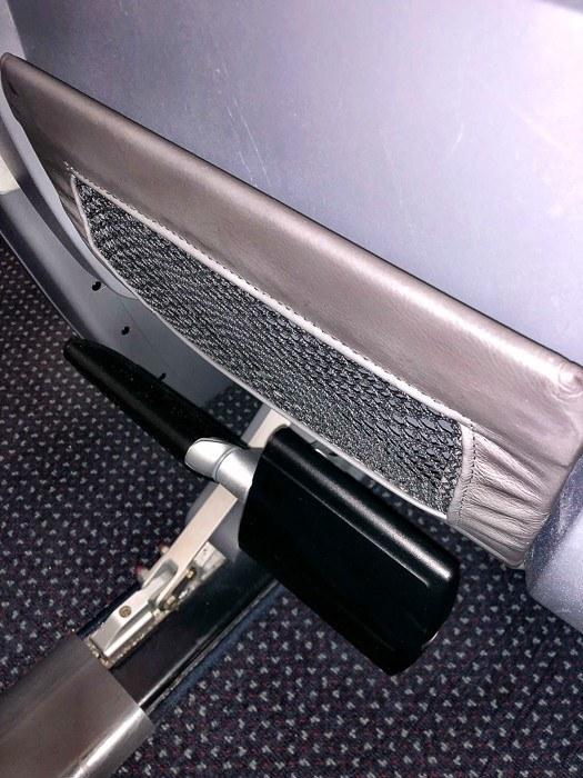 american airlines premium economy seats foot rest