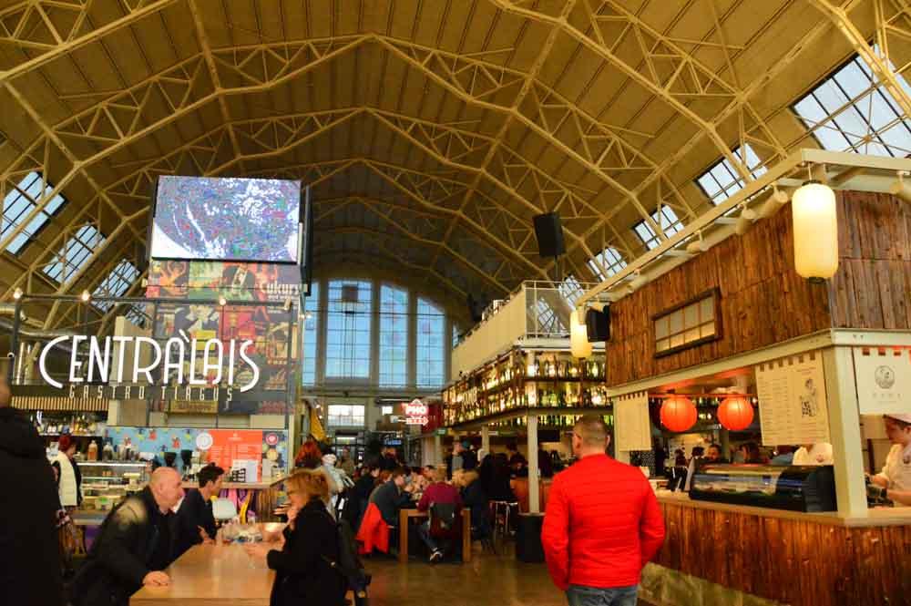 Centralais - the gastro market at Riga Central Market