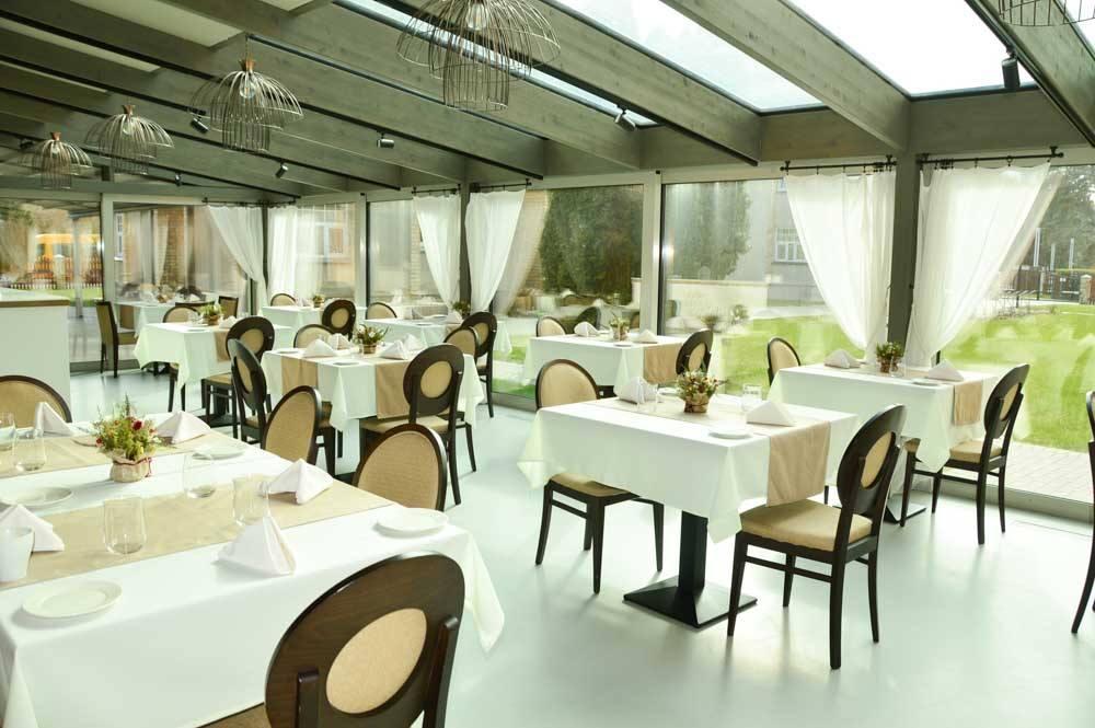 Restaurant at Hotel Kurshi Jurmala Latvia