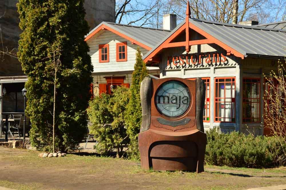 Maja Restaurant Riga Latvia