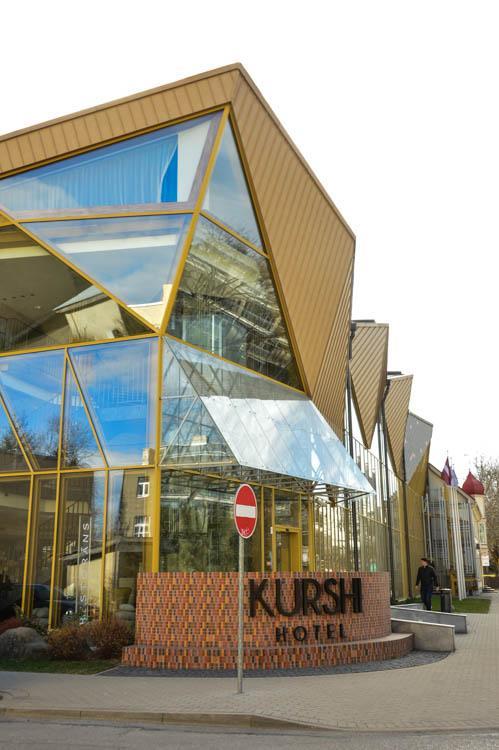 Exterior of Hotel Kurshi Jurmala Latvia