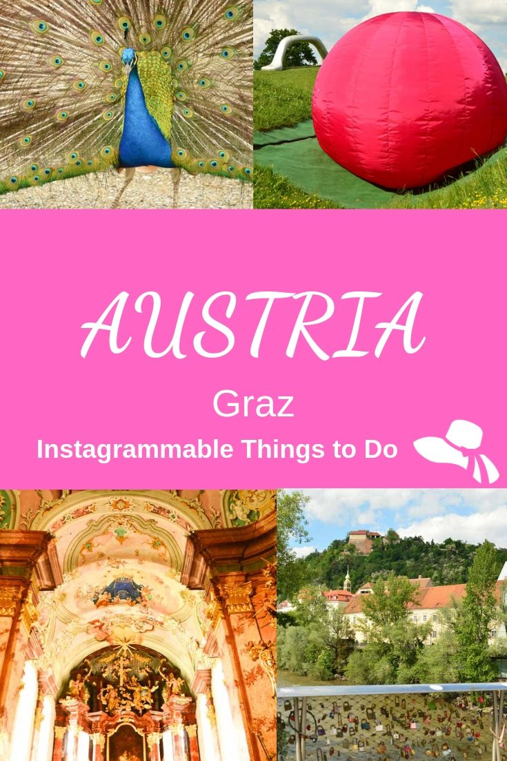 Looking for instagrammable Things To Do In Graz? Find out how to fill your Insta Grid in my post - from the world's longest indoor slide to sculpture parks & rotating lifts & more! #graz #austria