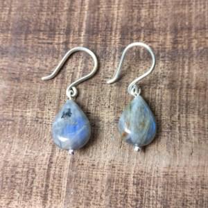 silver 925 labradorite earrings 2