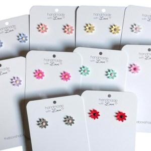 The Box mini bloem oorstekers