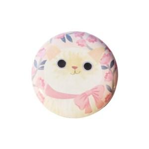 Planet Cat kleine ronde blikken doos wit