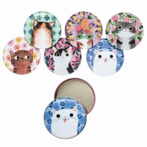 Planet cat coasters onderleggers