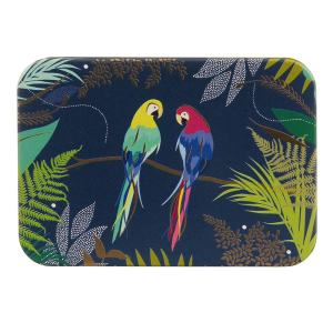 Sara Miller papegaaien blikken doos