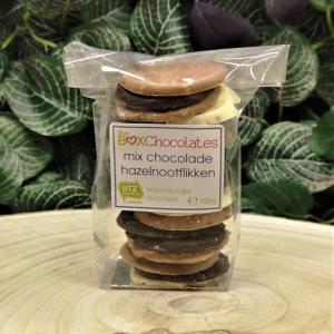 Mix chocolade hazelnootflikken 150g