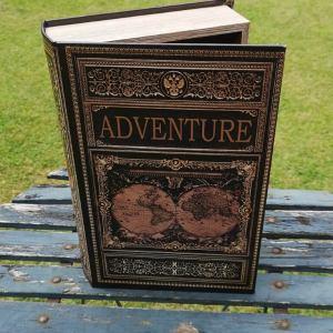 Opbergboek boekendoos XL Adventure voorkant