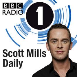 Scott Mills - spoilt by hangers-on