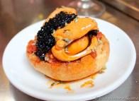 Mussel, Caviar & Tomato Montadito - Quimet i Quimet, Barcelona