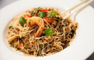 Kerabu Rice Noodles