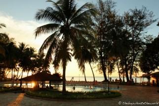 Poolside at Damai Beach Resort