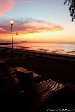 Sunset at Damai Beach Resort