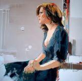 figurative painting woman Josef Kote 6