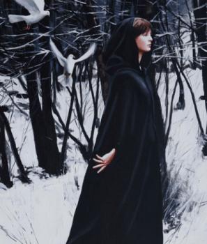 painting woman Gerard Burns 3