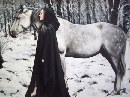 painting woman Gerard Burns 6