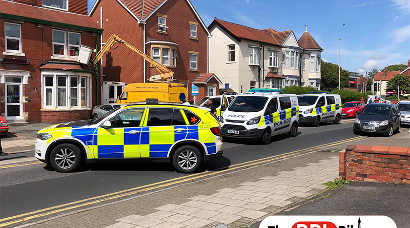 Police detain two men after chase
