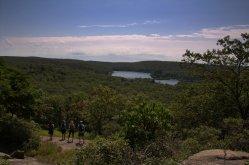 Group Overlook of Pine Meadow Lake