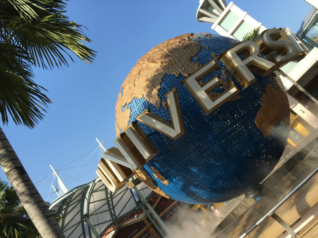 Singapur | Universal Studios | thebraidedgirl