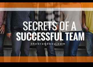 secrets of successful team