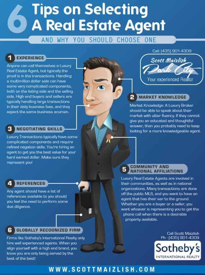 Choose right real estate slogans infographic